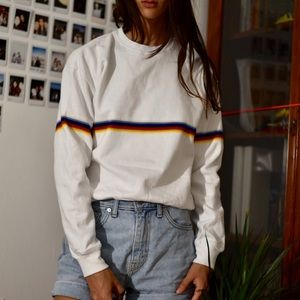 NWT brandy melville rainbow sweater
